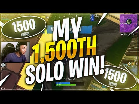 TSM Myth - I GOT MY 1500th SOLO WIN!!! | (Fortnite BR Full Match)