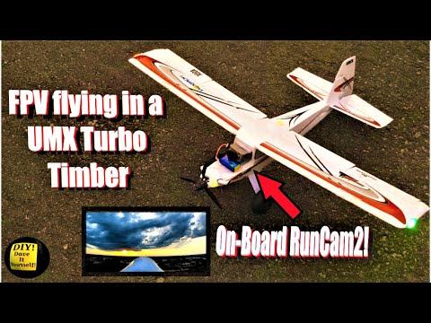 Фото E-flite UMX Turbo Timber - 3 FPV Flights with RunCam2 during Storm Cloud Sunset