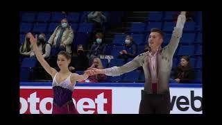 Анастасия Мишина Александр Галлямов Короткая программа Finlandia Trophy 2021