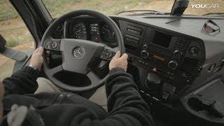 2014 Mercedes Arocs INTERIOR