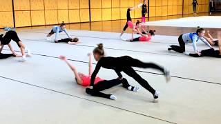 Учебно тренировочные сборы по художественной гимнастике Екатерины Пирожковой в Польше 2