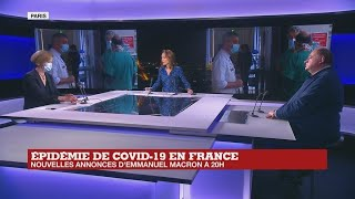 Épidémie de Covid-19 en France : nouvelles annonces d'Emmanuel Macron à 20h