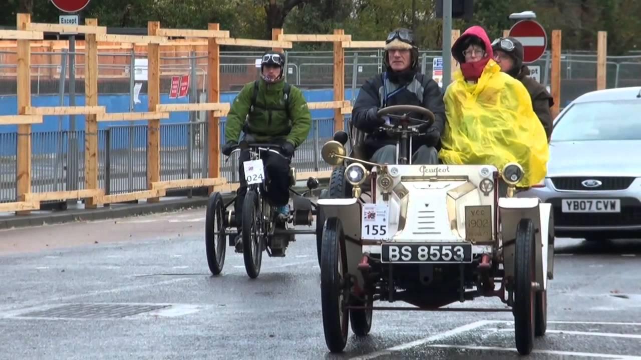 London to Brighton Veteran Car Run 2012 - YouTube