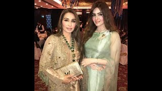 Reema Khan with her Younger Sister at Ahmed Shahzad's Son's Birthday
