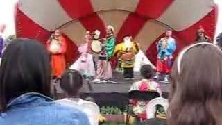 Chindon-ya Performance At Canadian Tulip Festival (2/3)