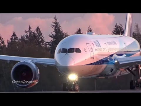 ANA - All Nippon Airways Boeing 787-9 Dreamliner JA875A Delivery Flight @ KPAE Paine Field