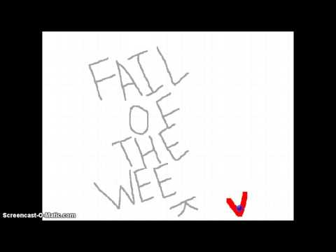 FAIL OF THE WEEK - Episode One - Colour Blindness