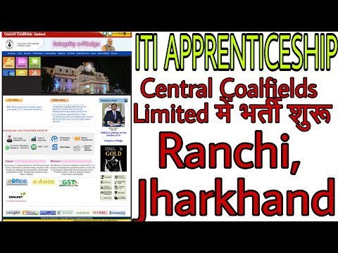 Central coalfields Ltd act apprenticeship online, ITI vacancy in coalfield for apprentice, coalfield