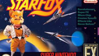 Starfox Asteroid Belt Music with Arwing Sound