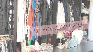 Updated Closet Tour | Axelle Blanpain