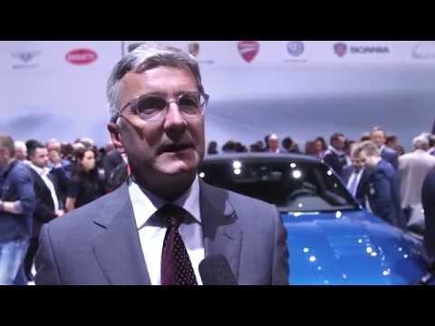 Audi AG - Prof. Rupert Stadler at the IAA 2015 | AutoMotoTV
