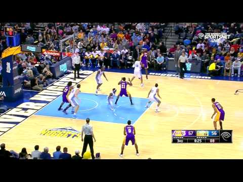 2014-12-30 Lakers vs. Nuggets Full Highlights