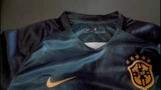 Elmontyouthsoccer.com 2017 Brazil Third Away Deep Green Soccer Jersey Shirt Unboxing Review