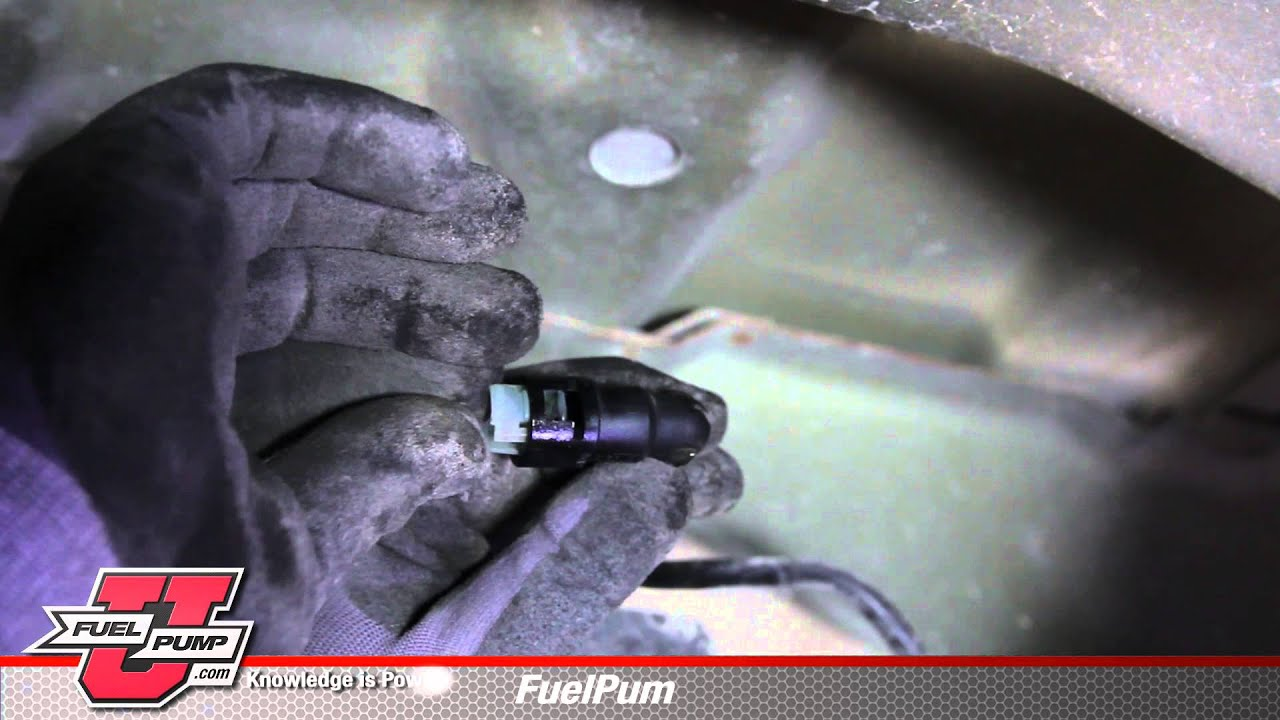 How To Install Fuel Pump E8595m In A 2004