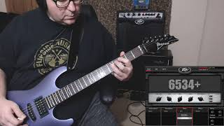 Noodlin around on the Ibanez S470 1 (sept 29th 2019)