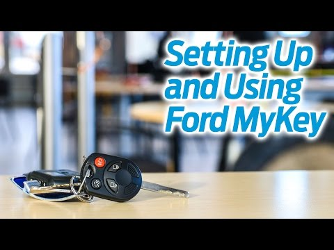 How to Set Up and Use Ford MyKey