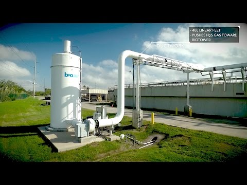 Odor Control System at South Wastewater Treatment Plant