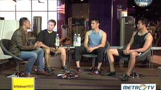 Young on top a talk show tv program metro hosted by billy boen dedicated to professional who are of their carrier.this episode in corporat...