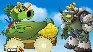 Plants vs Zombies 2: Journey To The West - New World Walkthrough Part 25 China Version