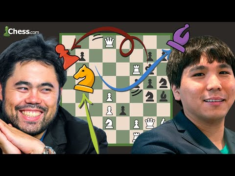 Hikaru Nakamura's Fortknight Tactics Lead To Crazyhouse Chess Victory Royale vs. Wesley So