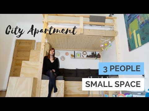 Small Space Optimized City Apartment | With Baby Nursery, Walk In & Custom Build Furniture
