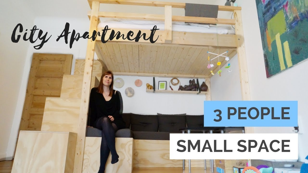Small Space Optimized City Apartment   With Baby Nursery  Walk In     Small Space Optimized City Apartment   With Baby Nursery  Walk In   Custom  Build Furniture