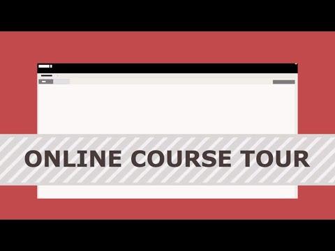 Online Student Course Tour