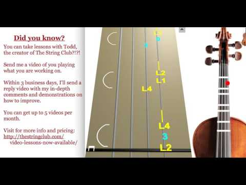 Learn Summer from The Four Seasons, mvmt 1 on Violin  How to Play Tutorial