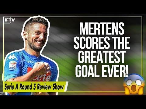 Dries mertens scores a wonder-goal | serie a round 5 recap show