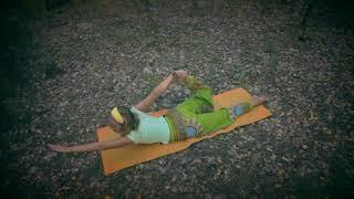 Комплекс йоги для женщин (2 часть) | йога для женского здоровья | видео-урок | муна Радуга жизни