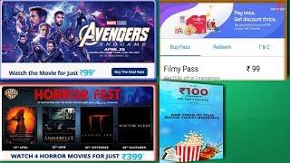 Avengers Endgame Movie Pass   Avengers Endgame Bookmyshow   Paytm Horror Fest Pass