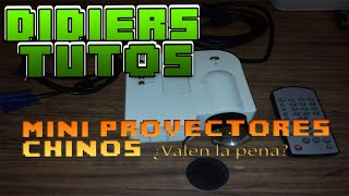 MINI PROYECTOR LED CHINO UC28 NO LO COMPREN