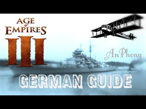 Age of empires III : German Guide [For No rush gamers]