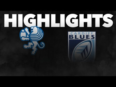 Guinness PRO14 Round 7: Benetton Rugby v Cardiff Blues Highlights