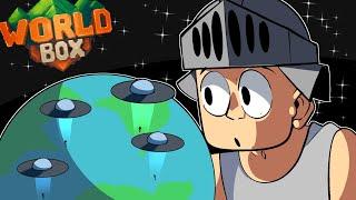 ALIENS vs HUMANOS - WorldBox