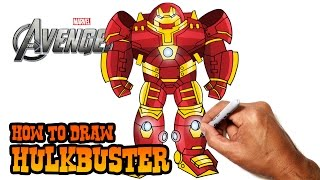 How to Draw Hulkbuster (Avengers)- Step by Step