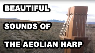 Outdoor Metal Aeolian Harp | Wind Harp