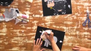Adesivagem com tecido – Passo a Passo – Eliane Tanelli