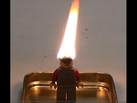 Лего горит / Стрижка вспышка / Прическа из серы / Конструктор Лего / Lego