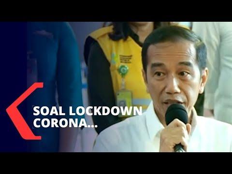 Corona Jadi Pandemi, Jokowi Belum Berencana Lakukan Lockdown