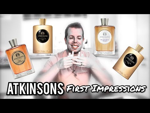 Atkinsons Fragrances - First Impressions