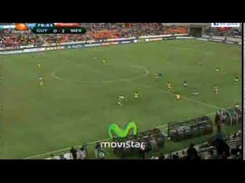 Mexico VS Guyana 5-0  2012 (HD)