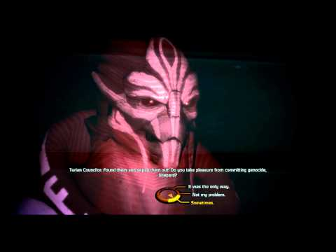 Depends on the species, Turian