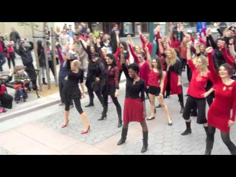 #VDay and #OneBillionRising Los Angeles, CA Dance Flash Mob #OBR #FlashMob