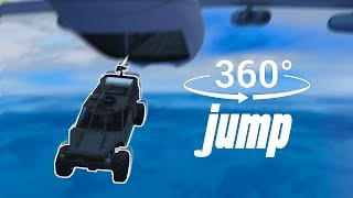 Jumping Out Of A Plane In Virtual Reality - GTA 360° Experience