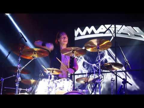 Gamma Ray - Michael Ehré Drum Solo @ Carioca Club - SP - 04/10/2015