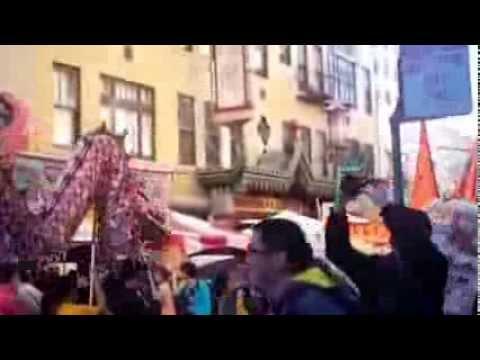 2013 autumn moon festival chinatown San Francisco the dragon parade