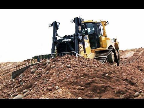 Restoration Gravel Pit - CAT D8 - Sweden