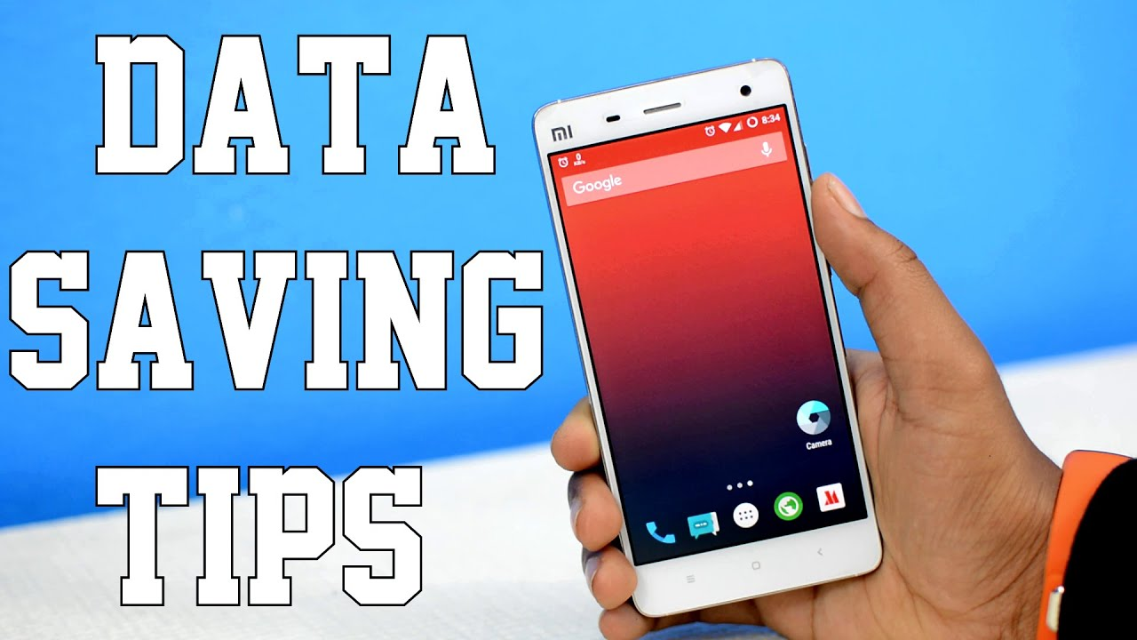 Pro Data Saving Tips For Your Android   (2016)