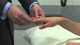 Neurology - Topic 8 - Examination of the small muscles of the hand